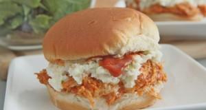 Sweet & Spicy Pulled BBQ Chicken Sandwiches