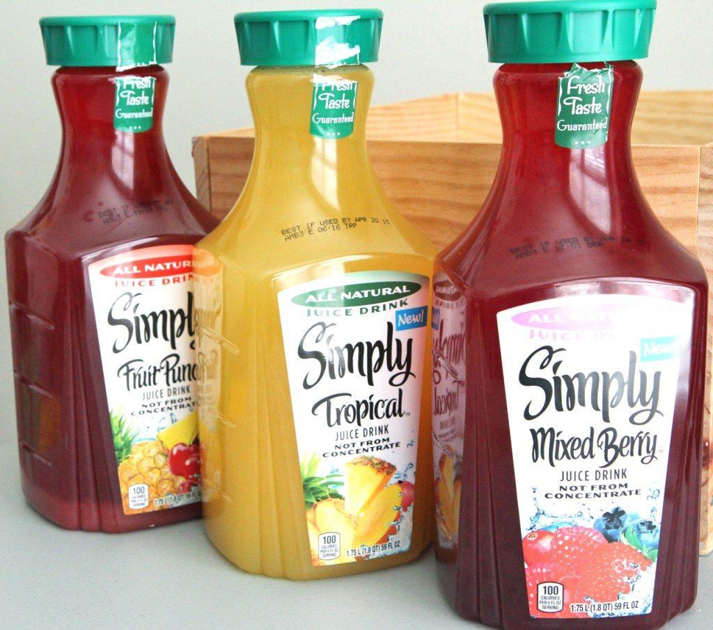 new simply juice drinks