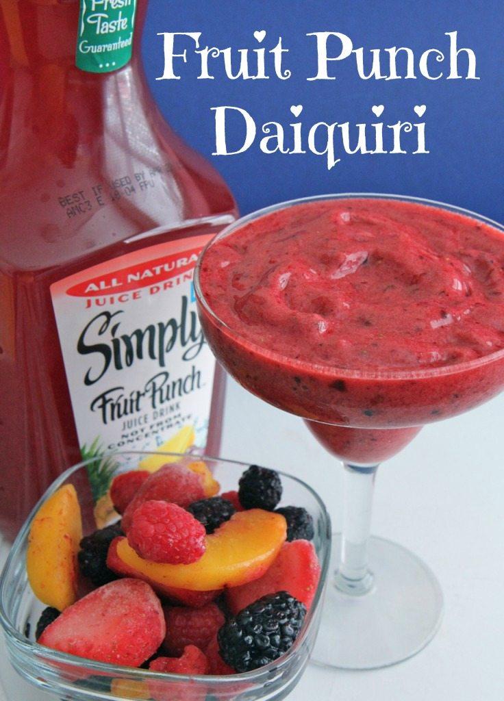 fruit punch daquiri recipe
