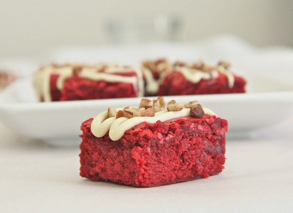 chewy red velvet brownies recipe