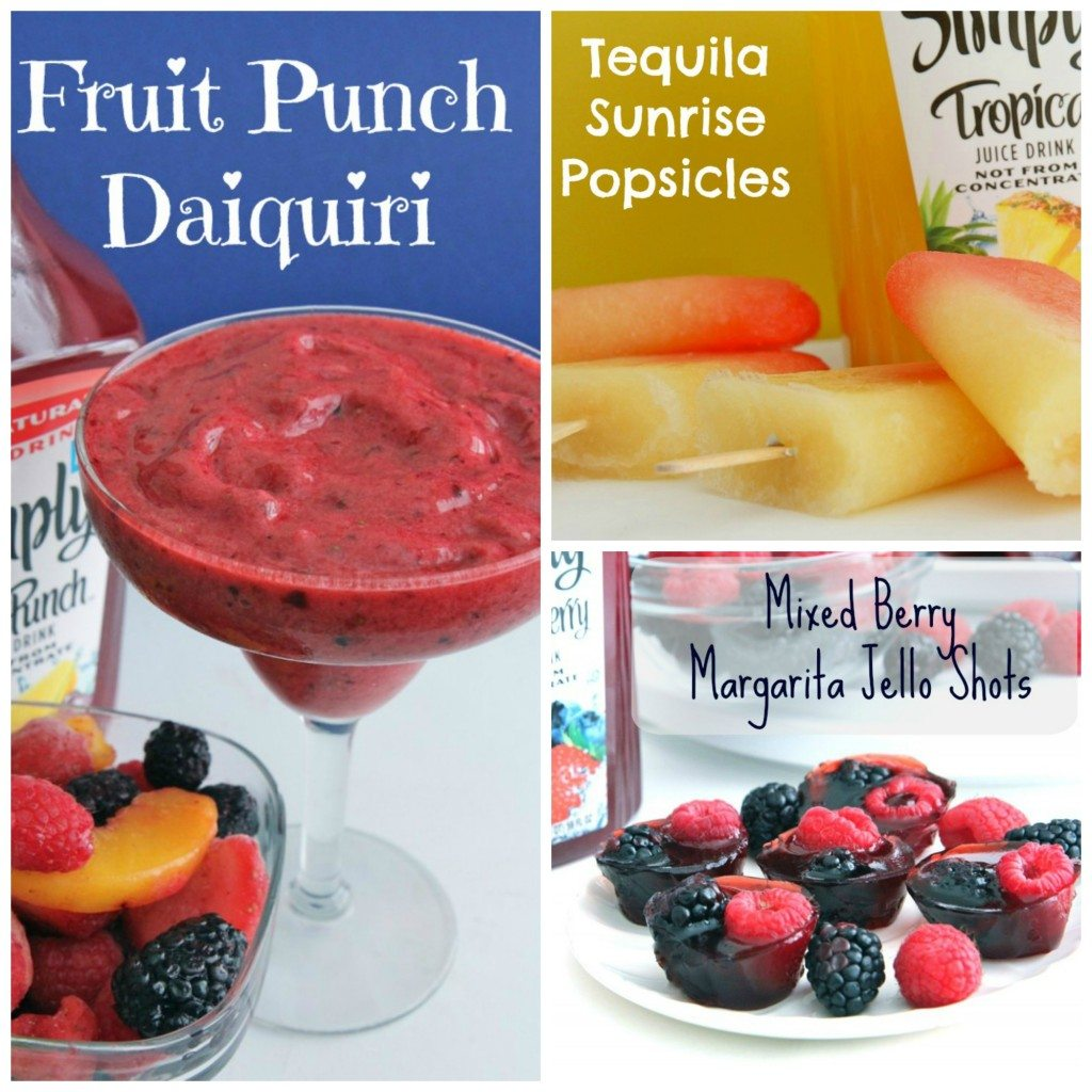 Cocktails 3 ways: Jello shots, Popsicles, daiquir