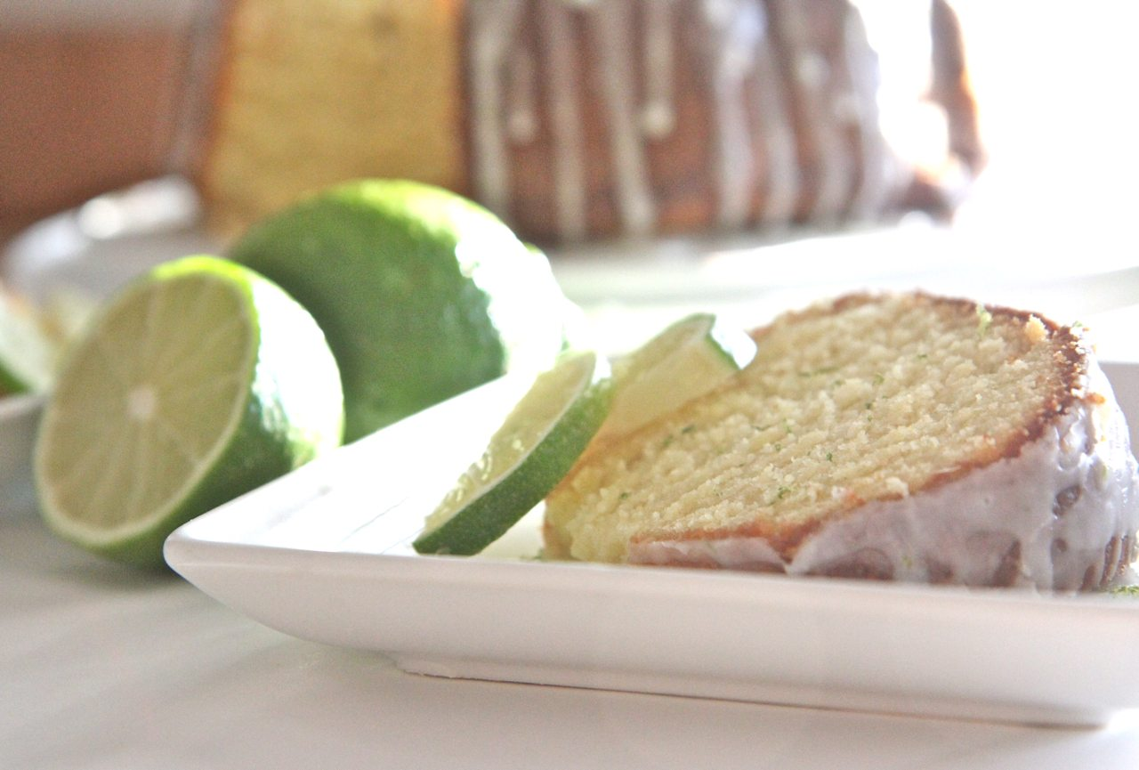 Homemade glazed lime pound cake recipe that bakes up moist, dense ...