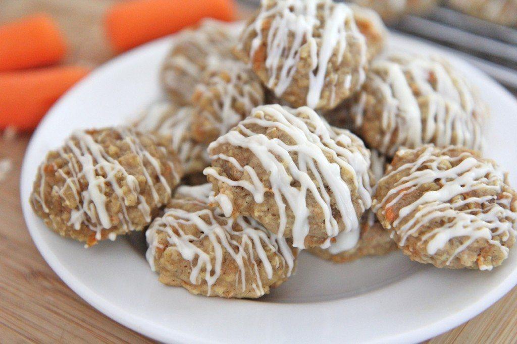 carrot cake oatmeal cookies recipe 1