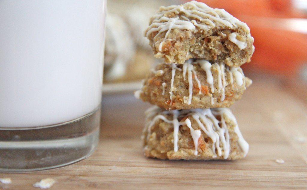 carrot cake oatmeal cookies recipe 3