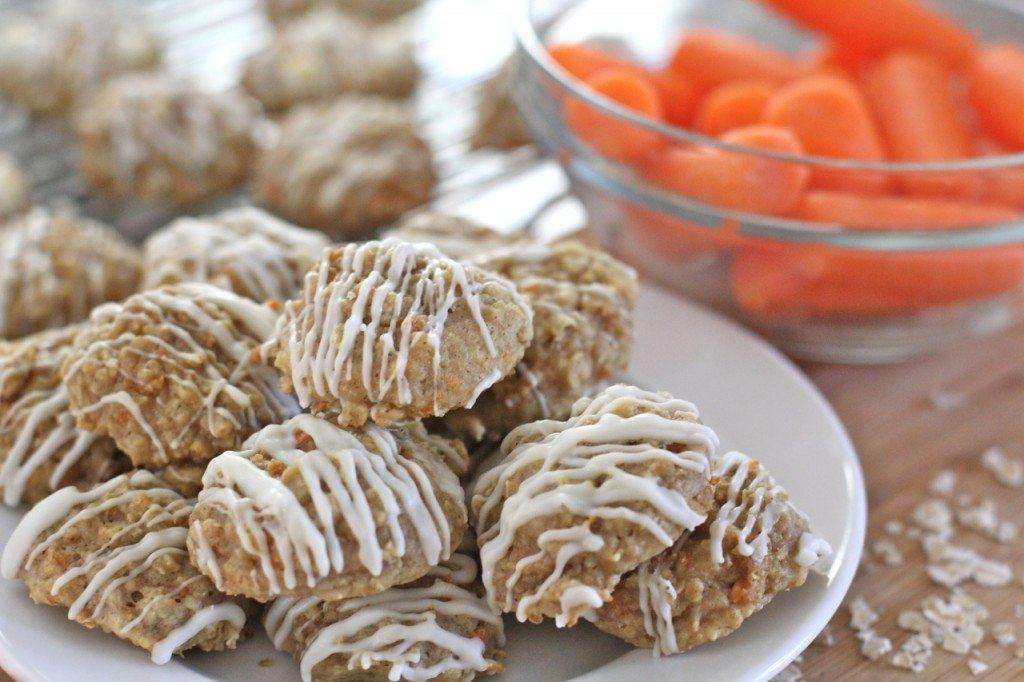 carrot cake oatmeal cookies recipe 9