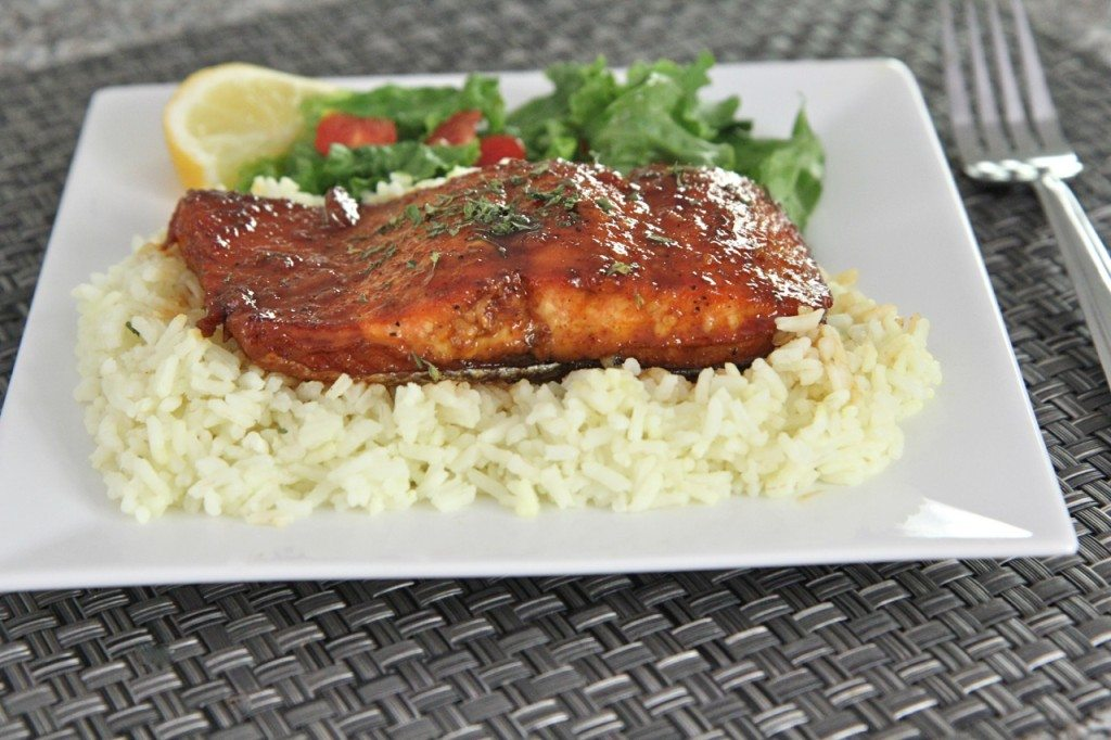 honey glazed salmon recipe 2