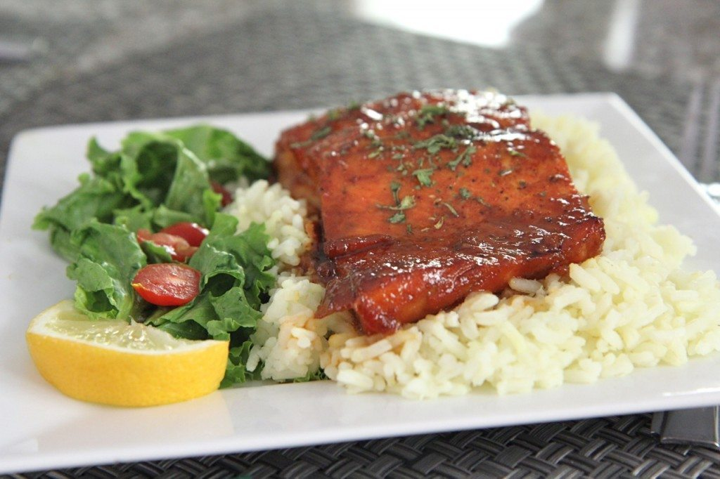 honey glazed salmon recipe 7