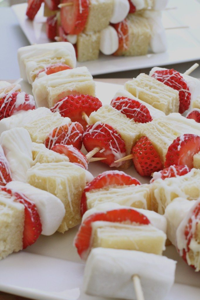 strawberry shortcake dessert kabobs recipe 9