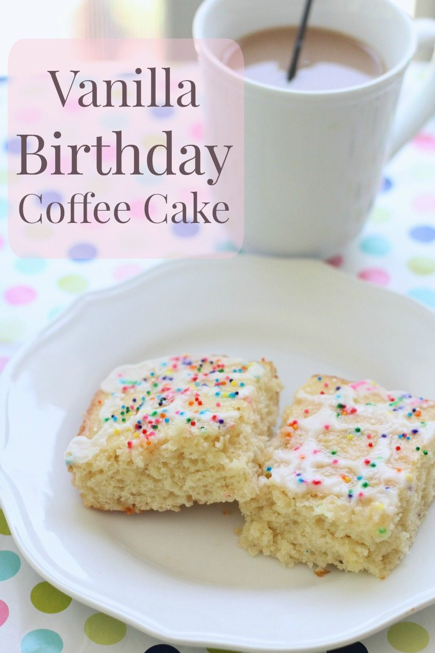 Coffee Mate Classic Vanilla Creamer Cake 111