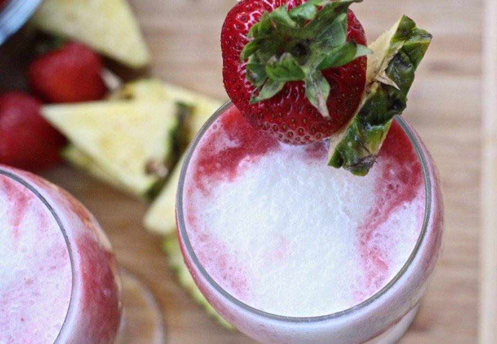 strawberry pina colada recipe easy
