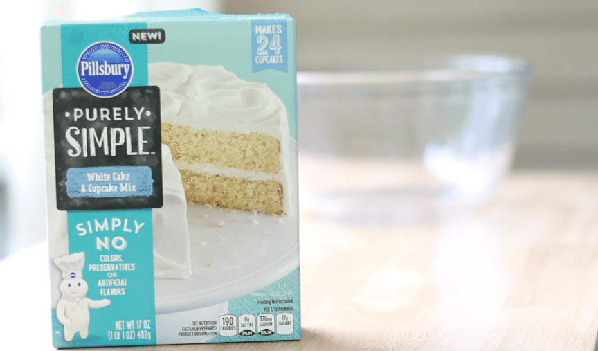 purely simple cake mix