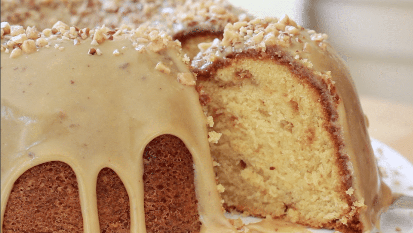 brown sugar caramel pound cake recipe