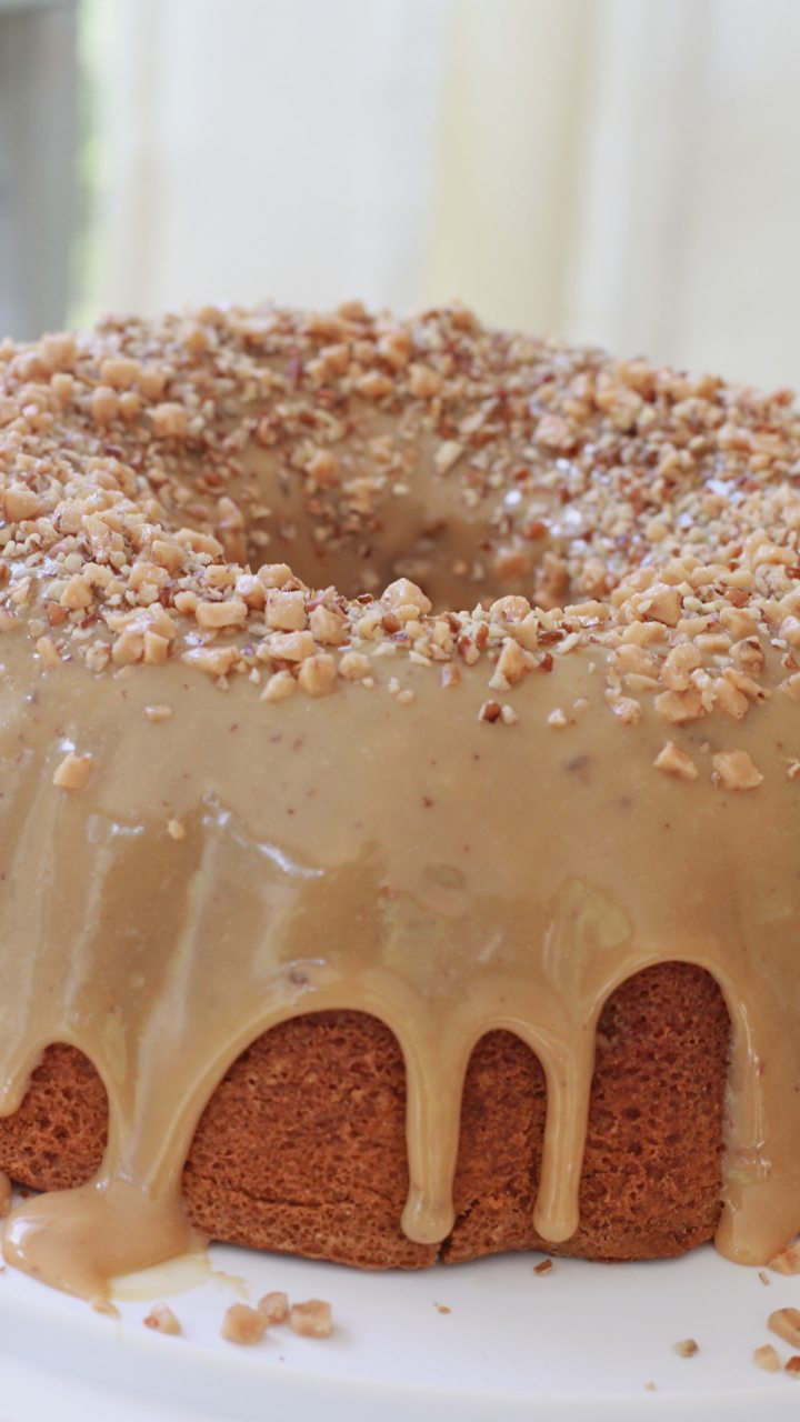 brown sugar caramel cake recipe