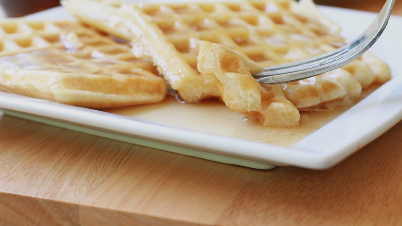 easy buttermilk waffles recipe best