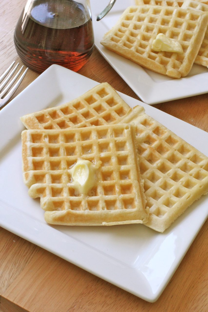 Soft Buttermilk Waffles Recipes — Dishmaps