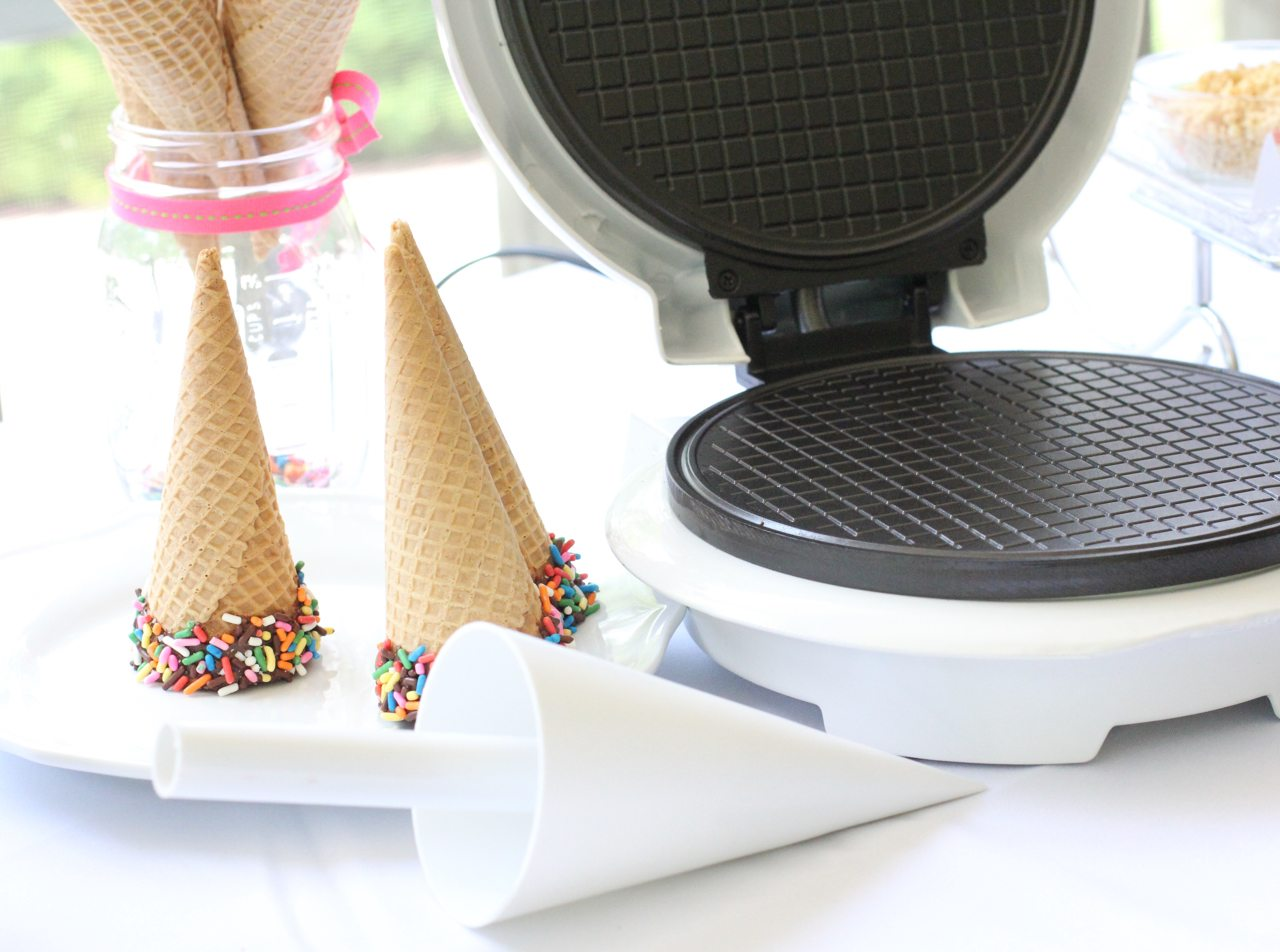 how to create an ice cream buffet