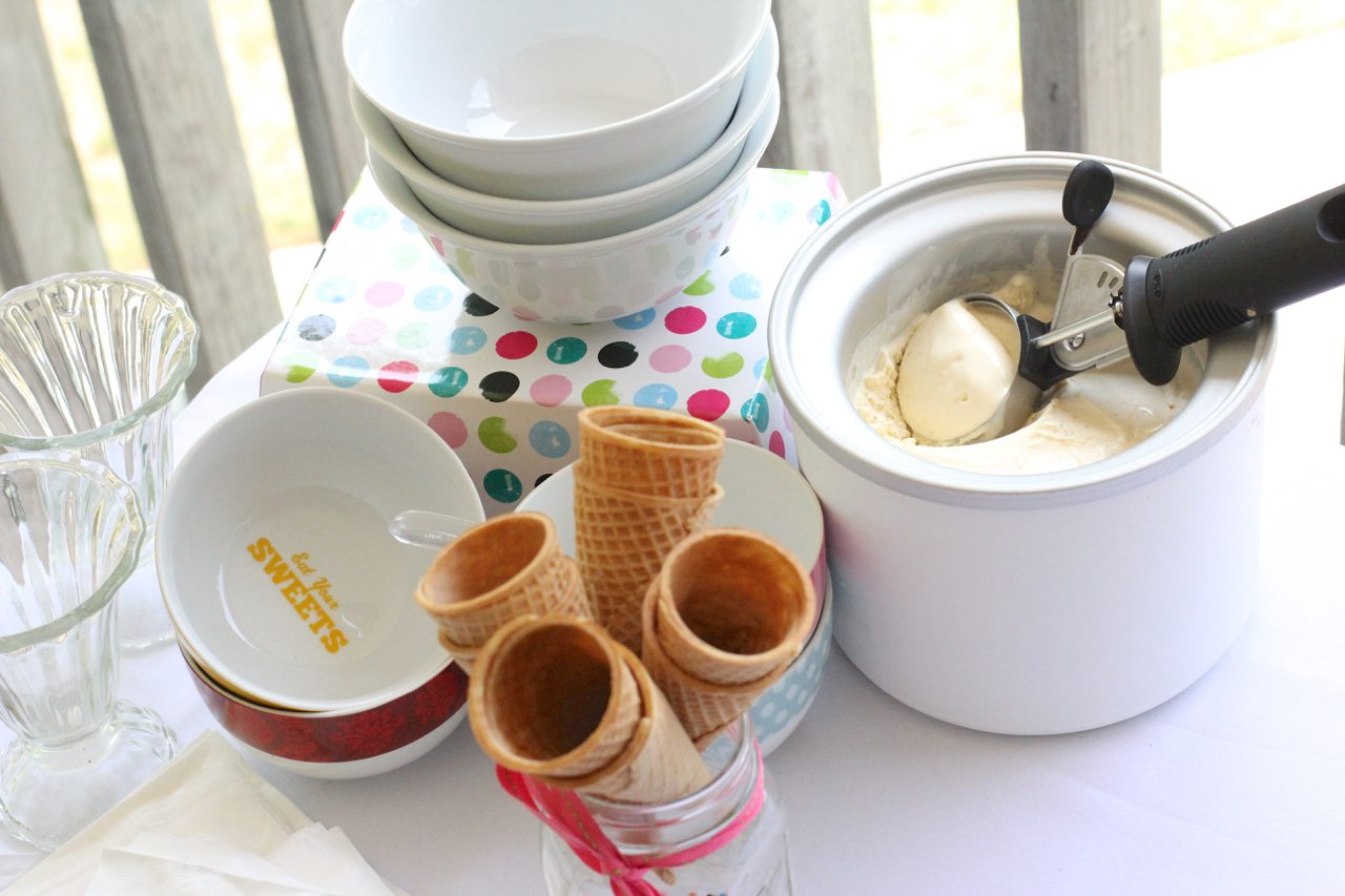 how to create an ice cream buffet 21