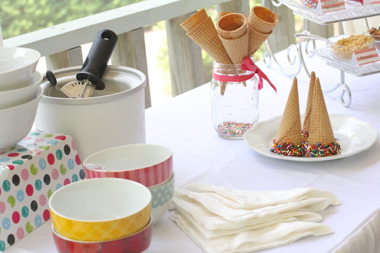 how to create an ice cream buffet 78