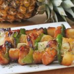 pineapple chicken kabob