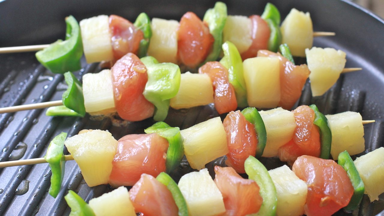 pineapple chicken kabob recipe