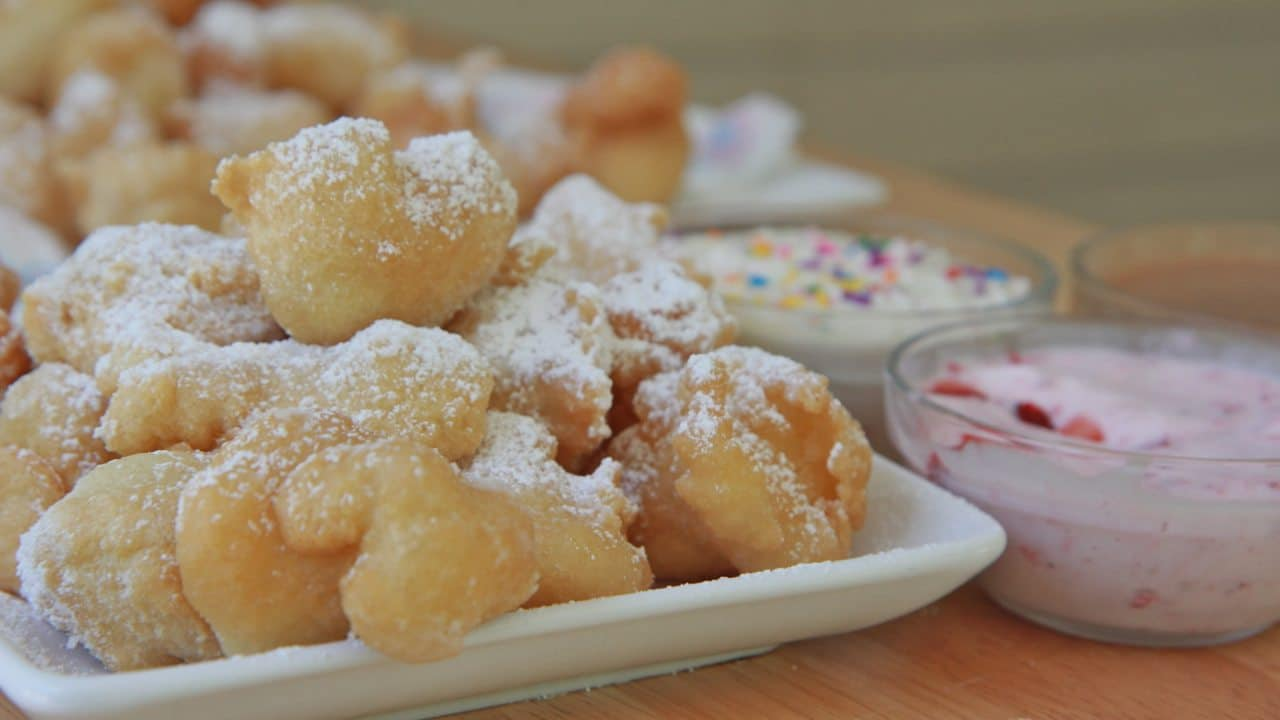 ... easy funnel cakes mrfood com funnel cake recipe easy funnel cake