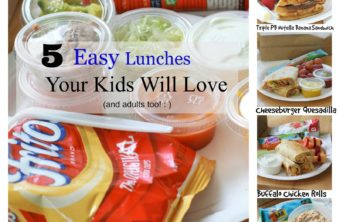 5 Easy Lunches Your Kids Will Actually Eat