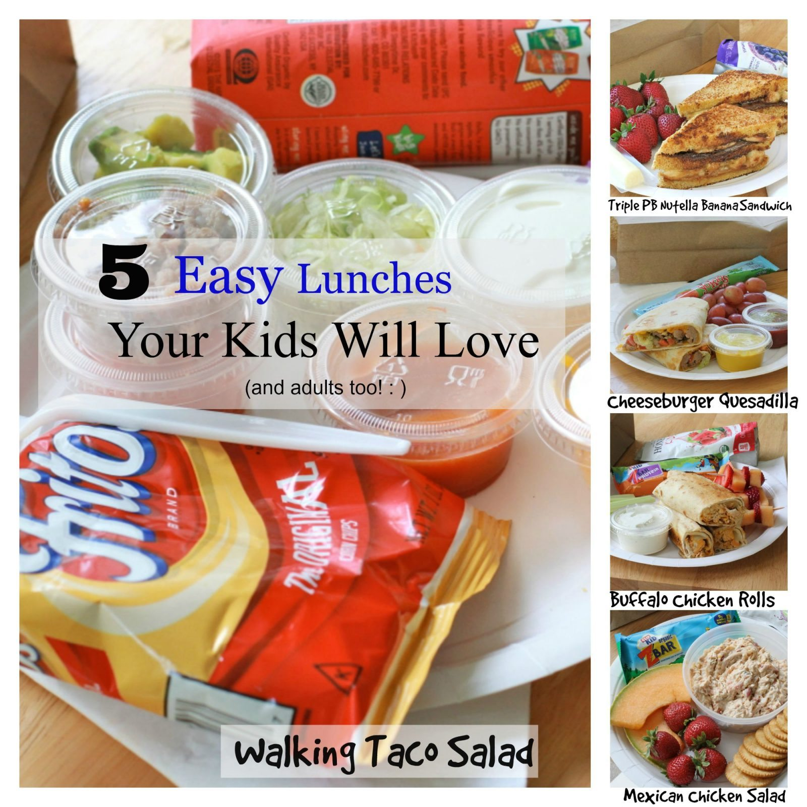 Easy School Lunch Idea Recipes Divas Can Cook