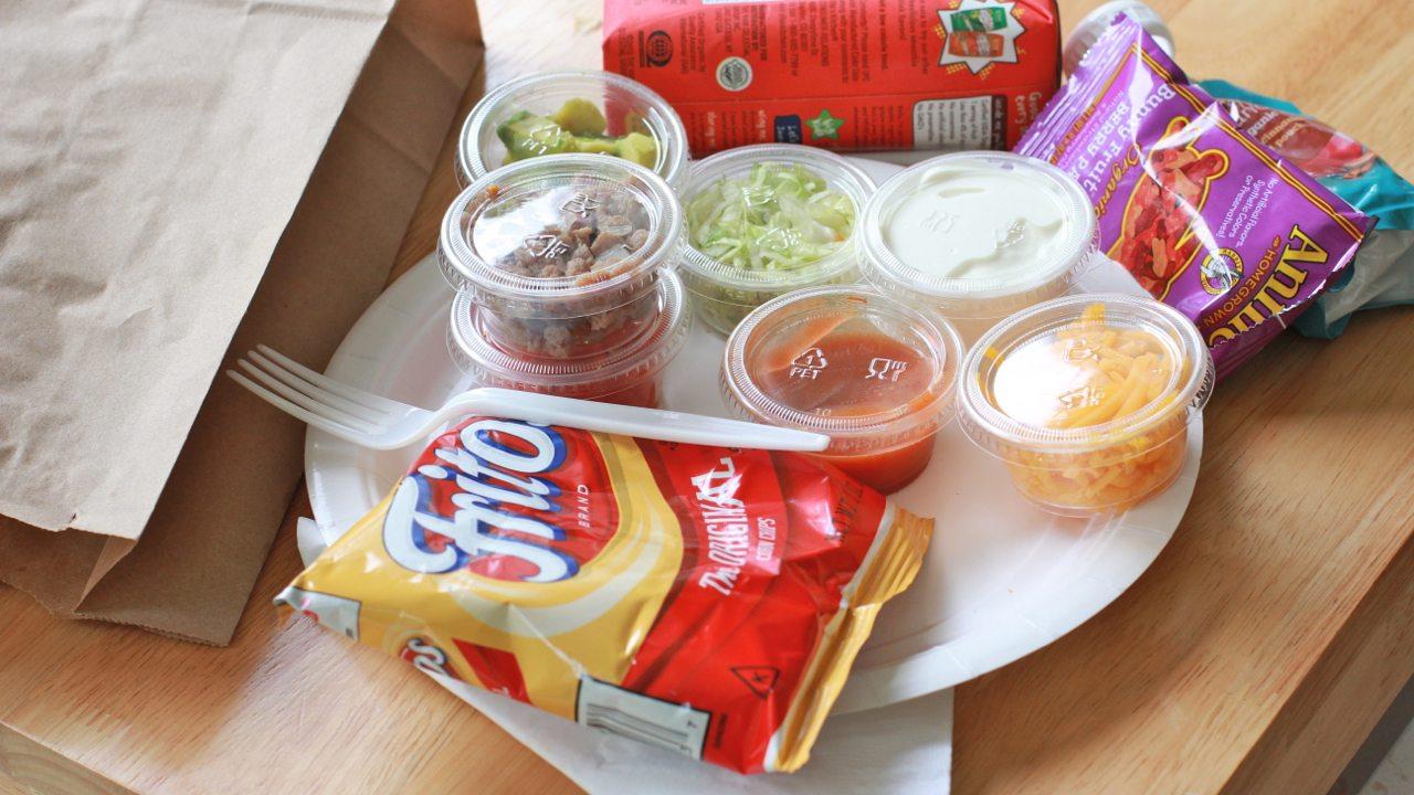 walking taco salad recipe