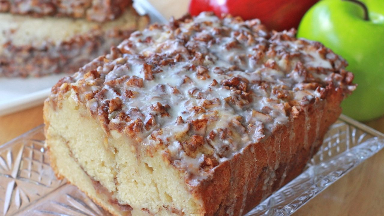 Apple Fritter Bread Recipe