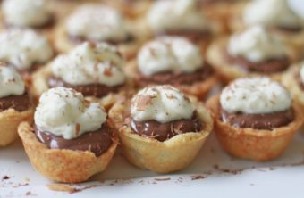 Chocolate Pudding Pie Bites
