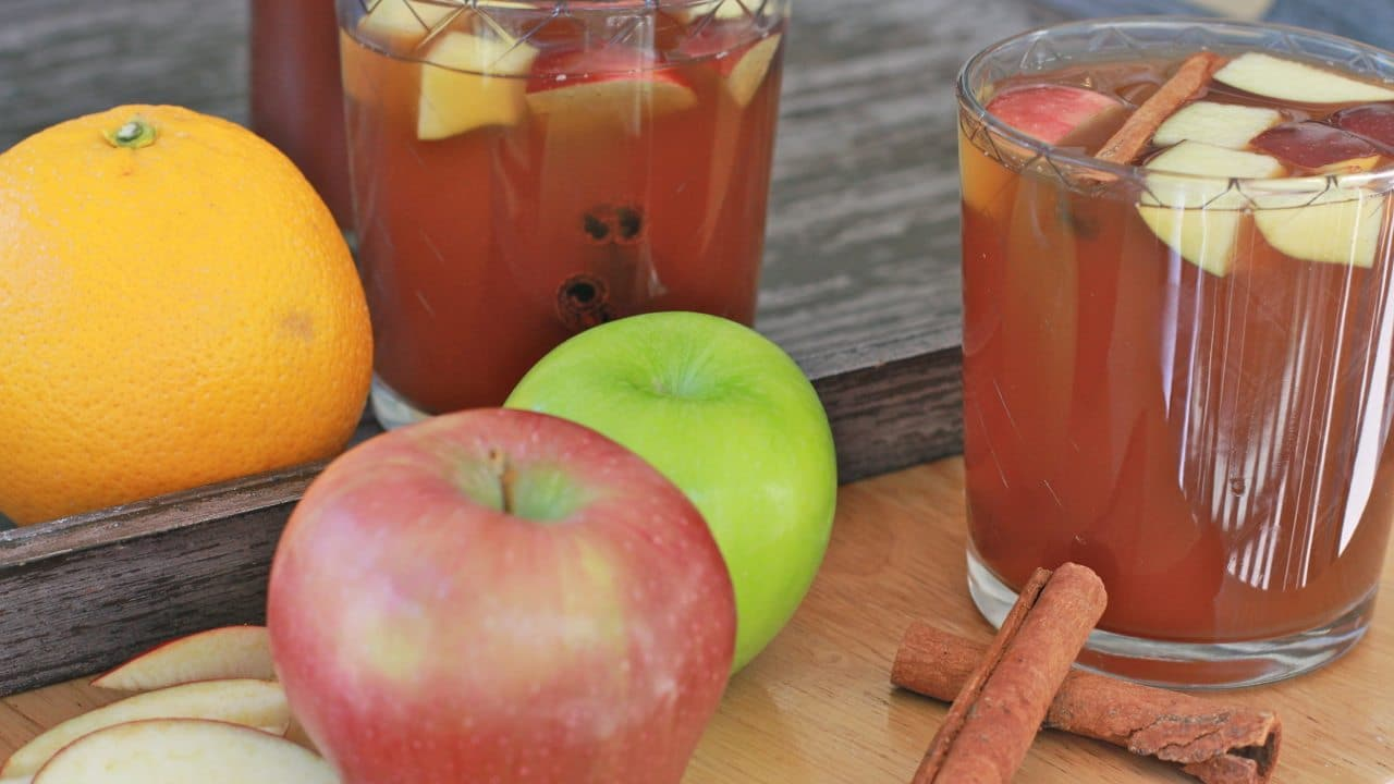 Watch me make this homemade apple cider from start to finish!