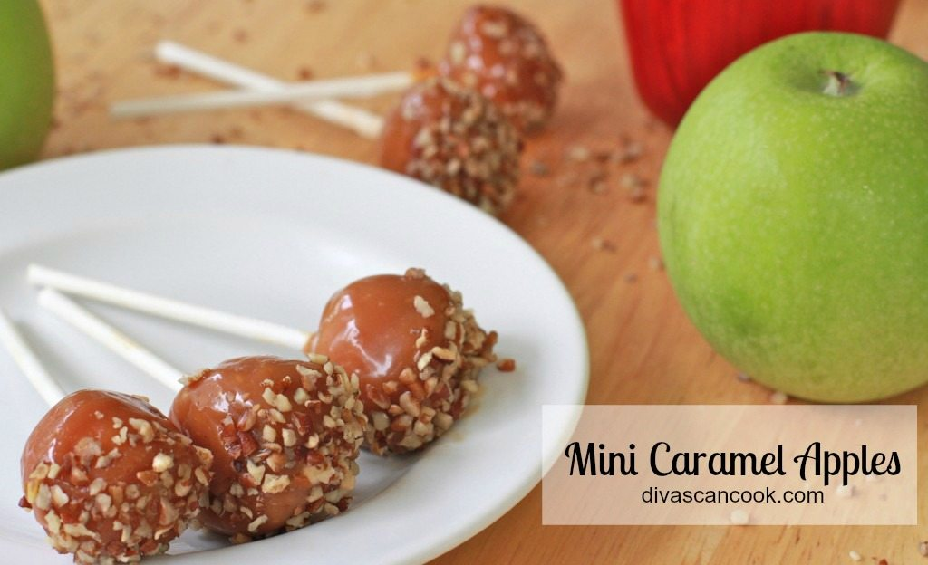 caramel apple mini