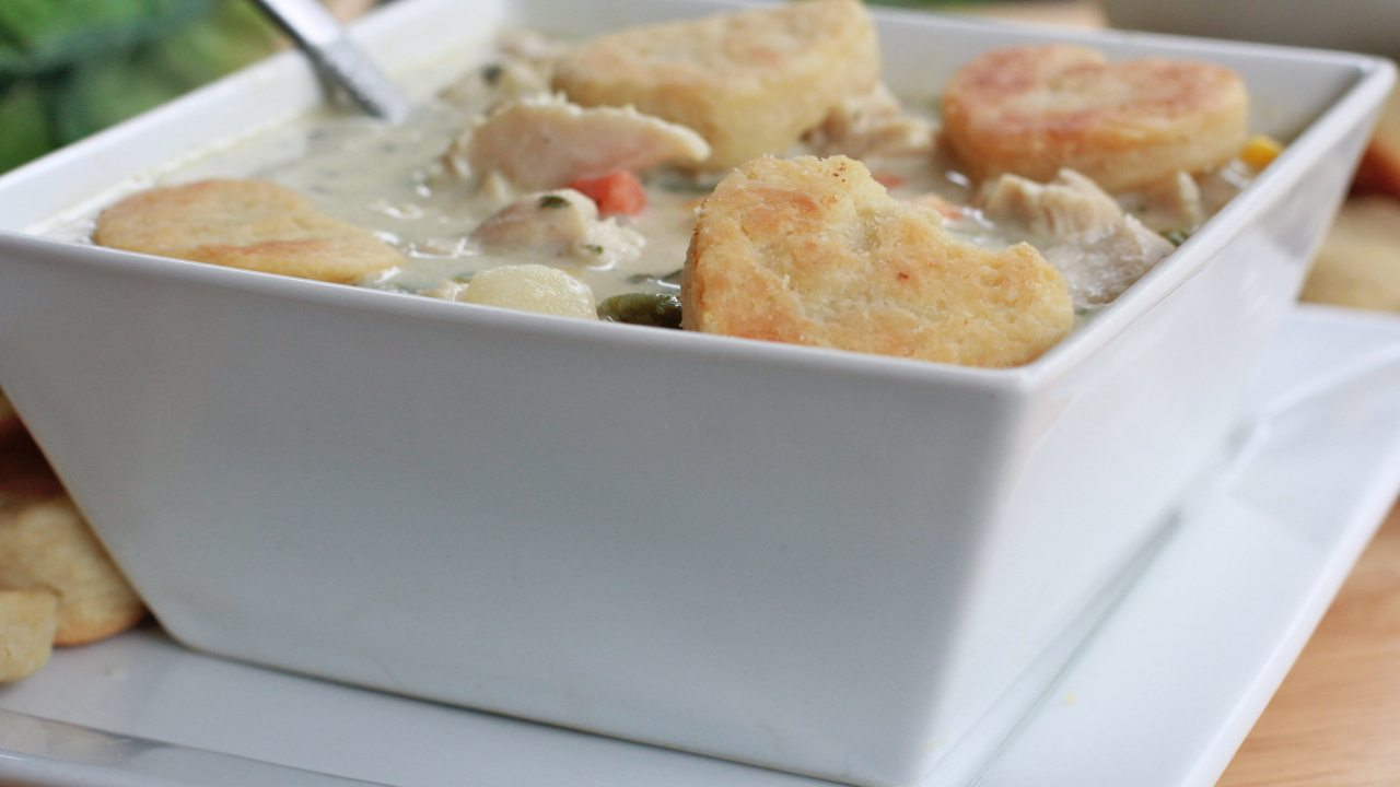 chicken pot pie soup recipe creamy