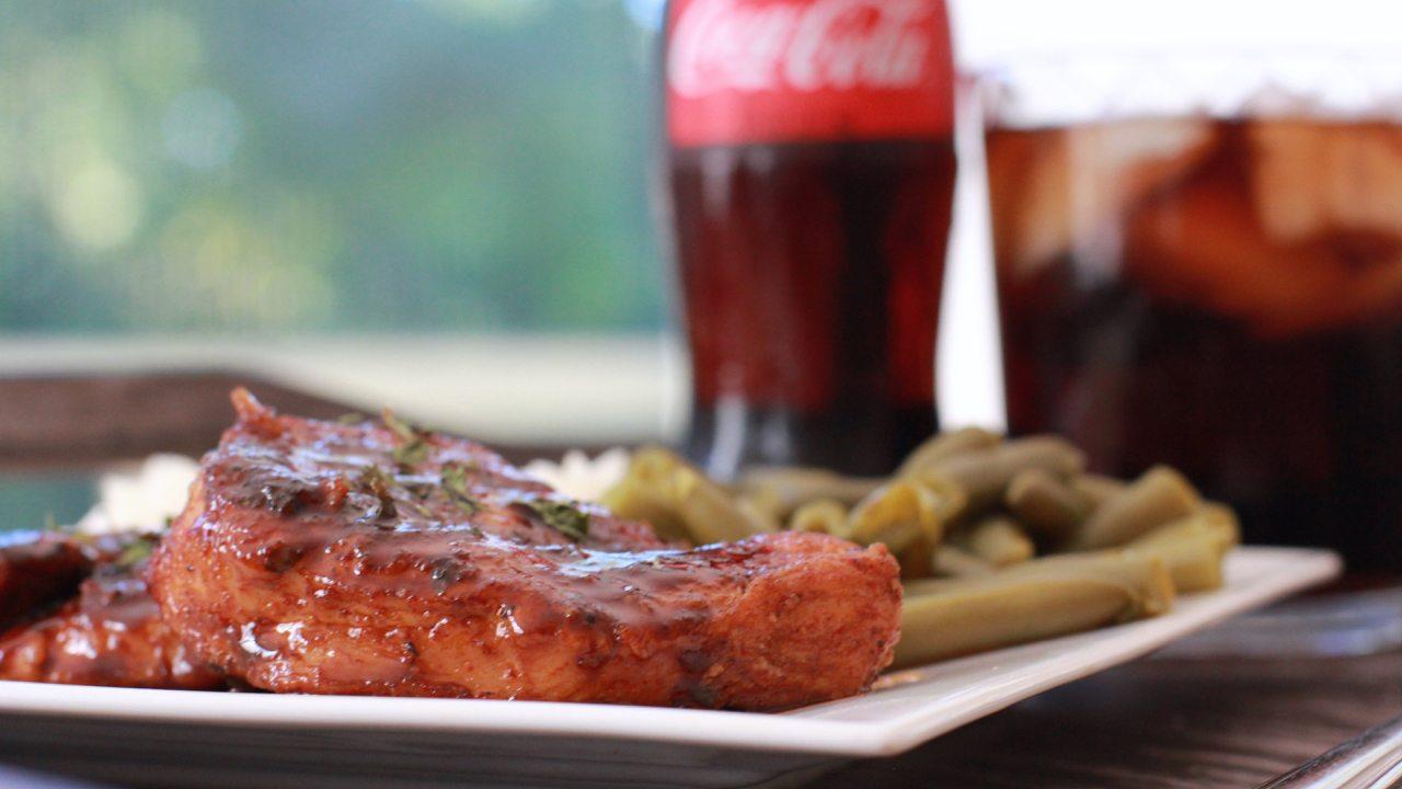 coca-cola glazed turkey chops recipe
