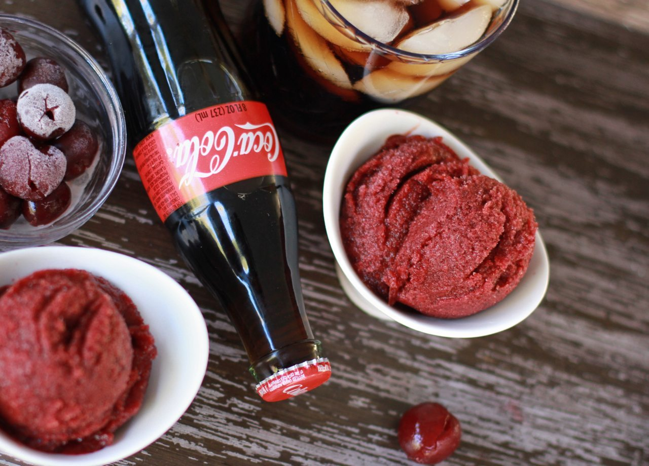 easy coca-cola cherry sorbet recipe 1