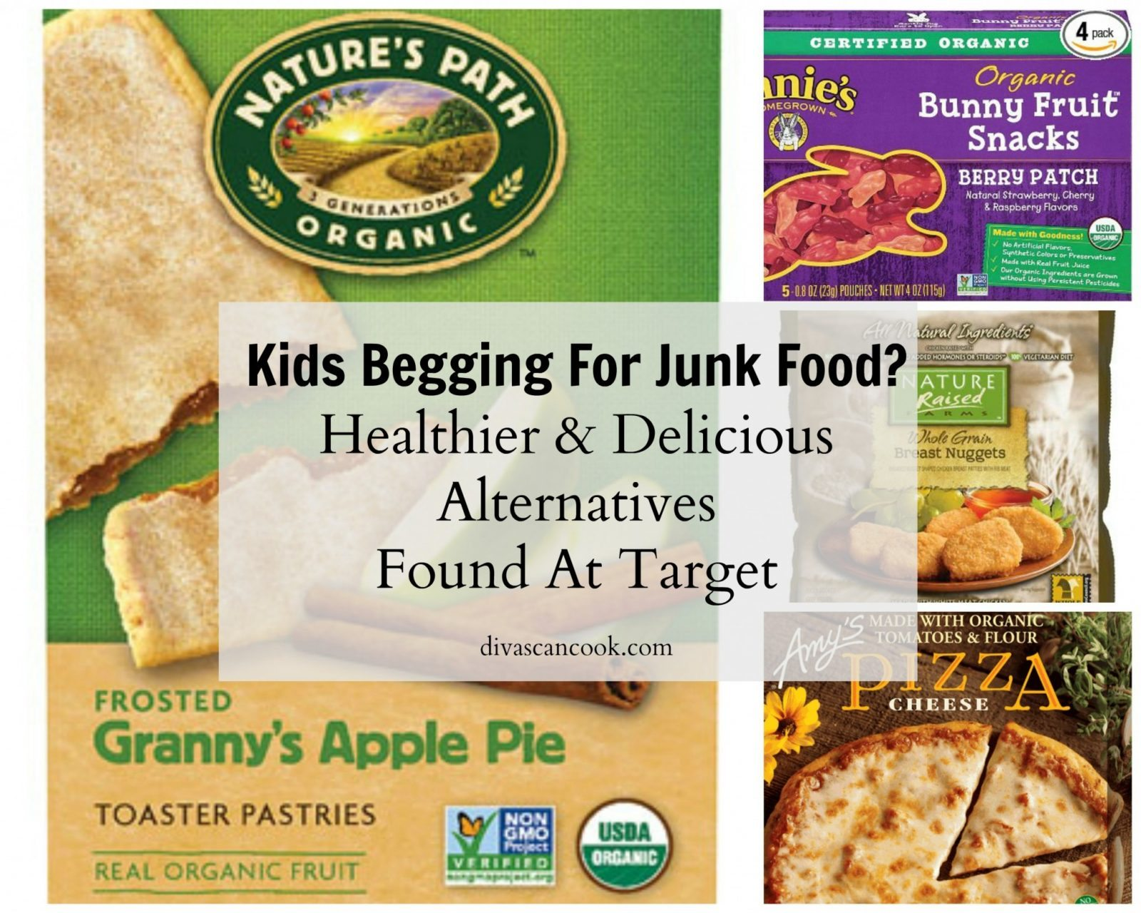 Healthier Grocery Store Foods For Kids