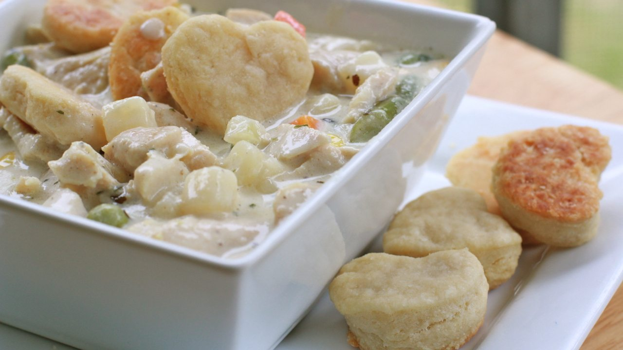 savory chicken pot pie soup recipe