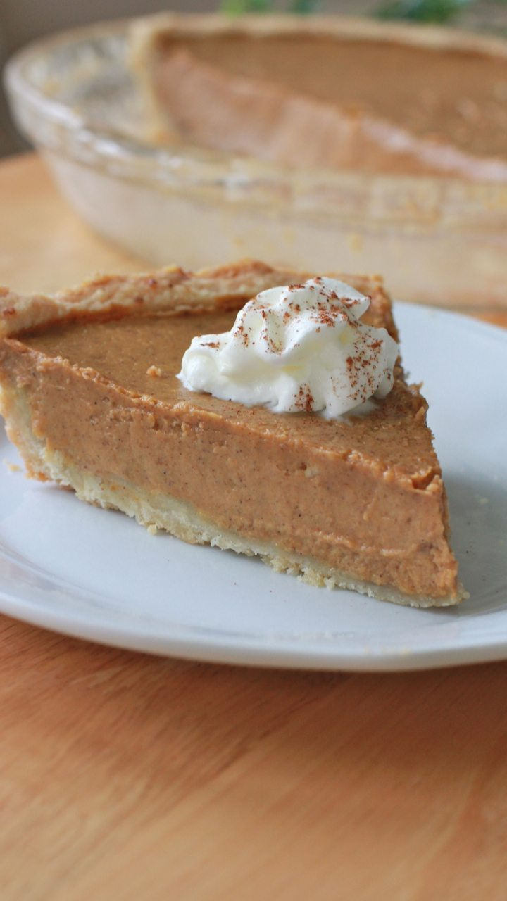 best gluten free pumpkin pie