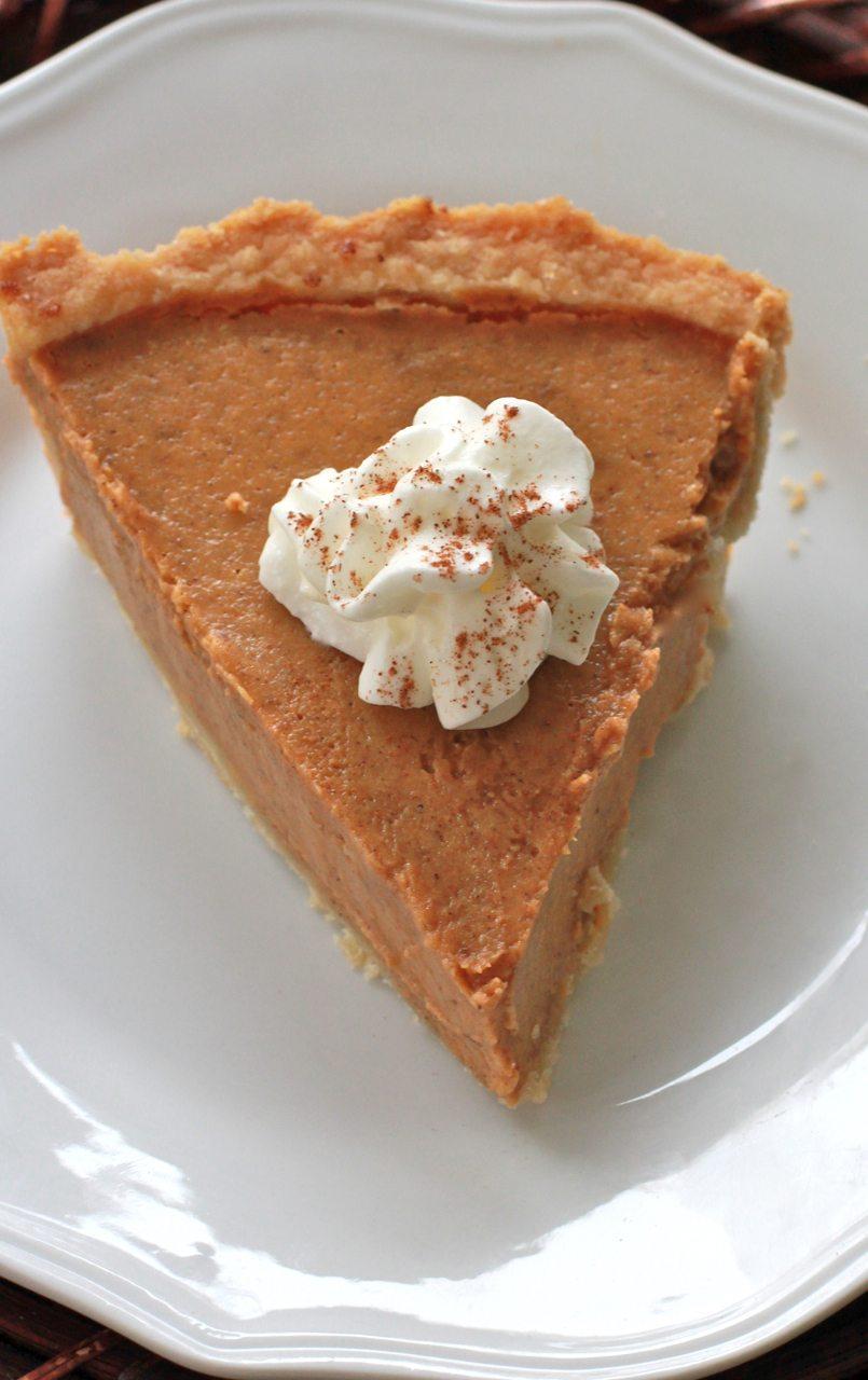 gluten free pumpkin pie crust
