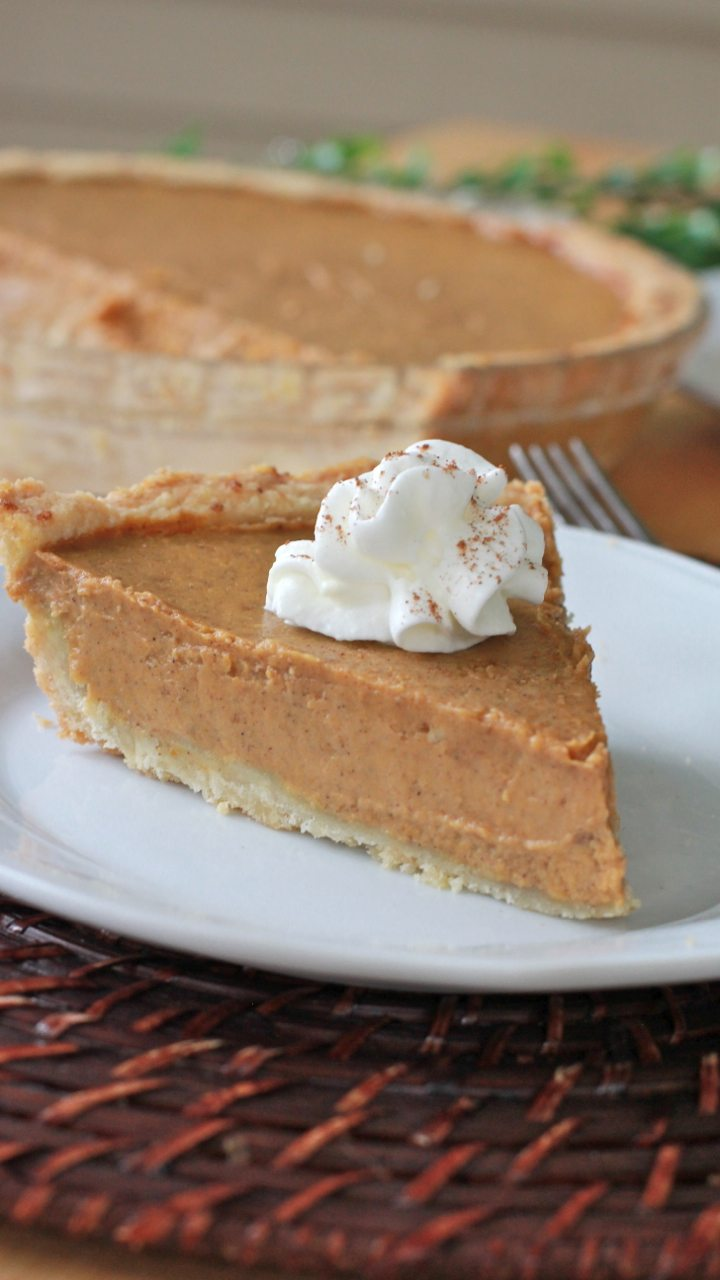 gluten free pumpkin pie recipe best