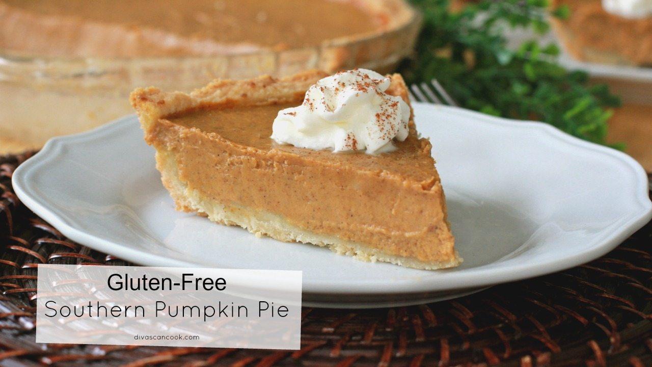 Gluten-Free Pumpkin Pie + Gluten-Free Pie Crust
