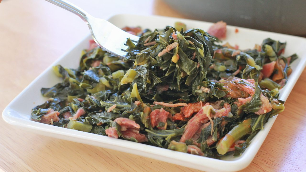 Soul food collard greens recipes divas can cook southern collard greens recipe easy soul forumfinder Image collections