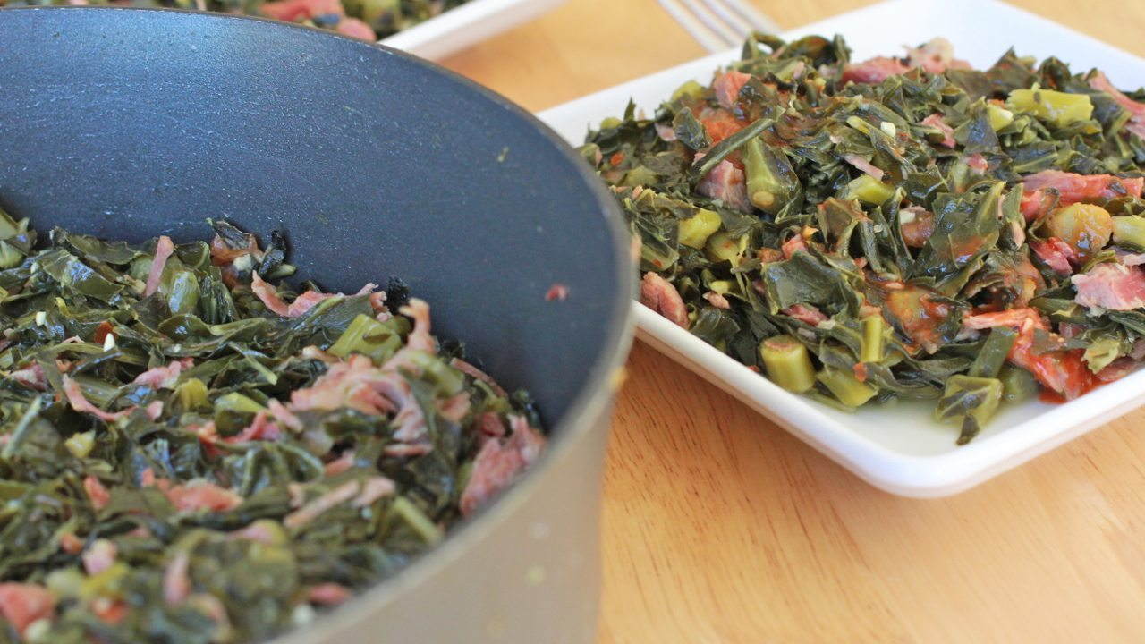 southern collard greens recipe easy