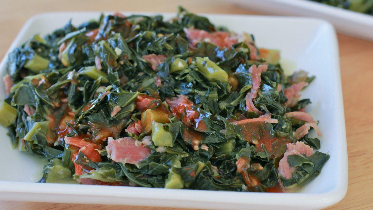 Soul food collard greens recipes divas can cook southern easy collard greens recipe forumfinder Choice Image