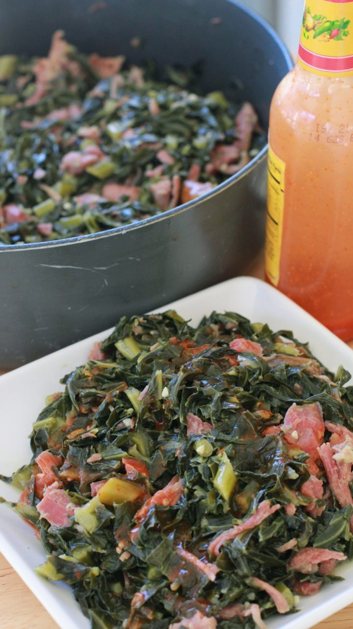 Soul Food Collard Greens Recipe Vinegar