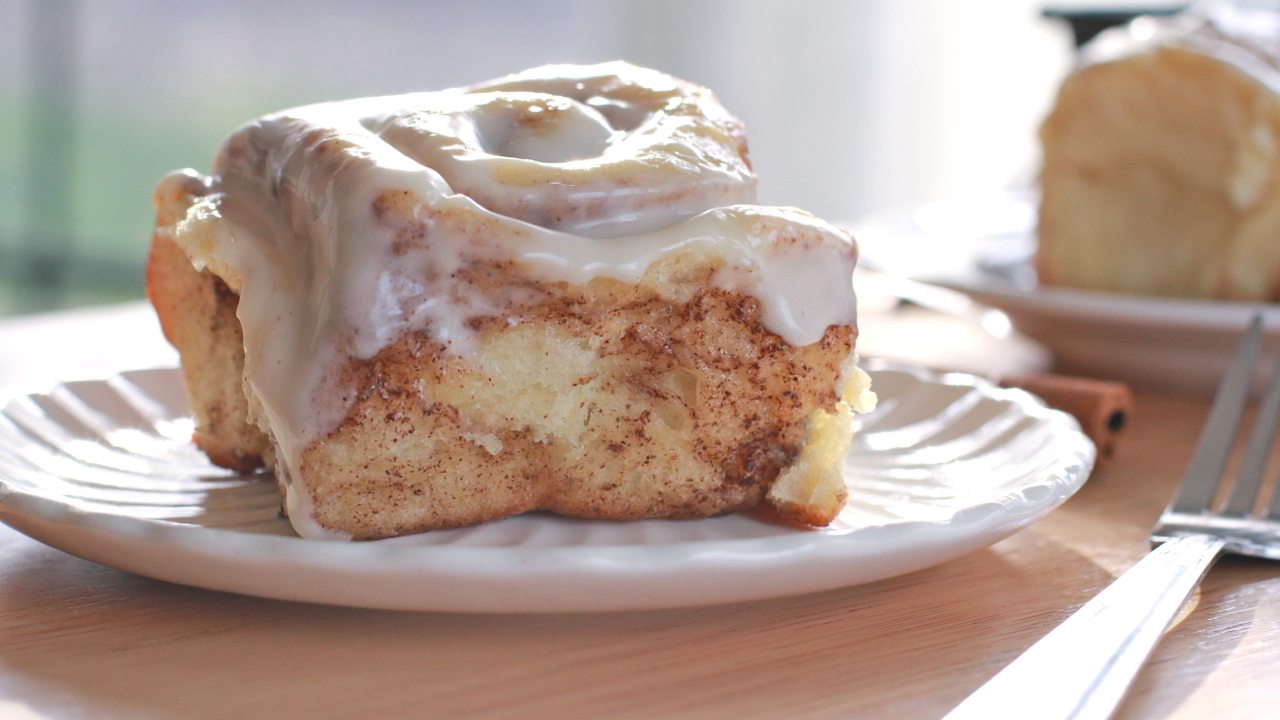 Cinnamon Rolls Made With Cake Mix