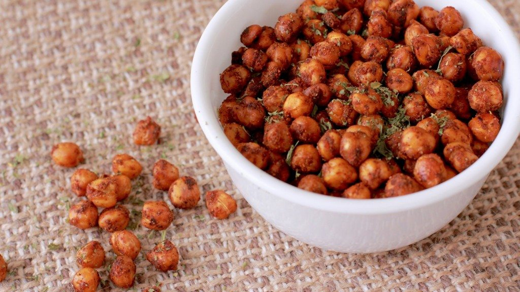 Roasted Taco Chickpeas