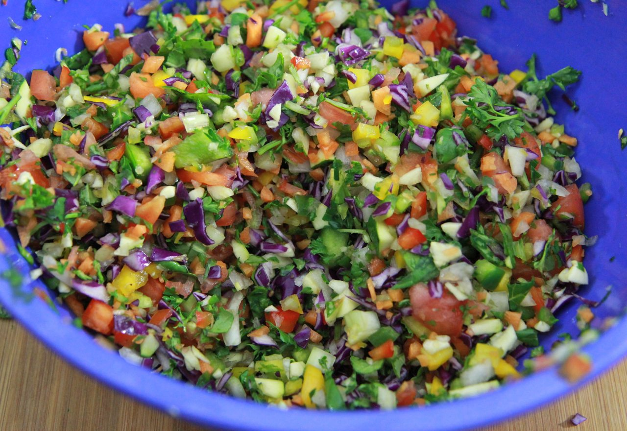 Rainbow Detox Soup Recipe