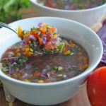 Rainbow Detox Vegetable Soup