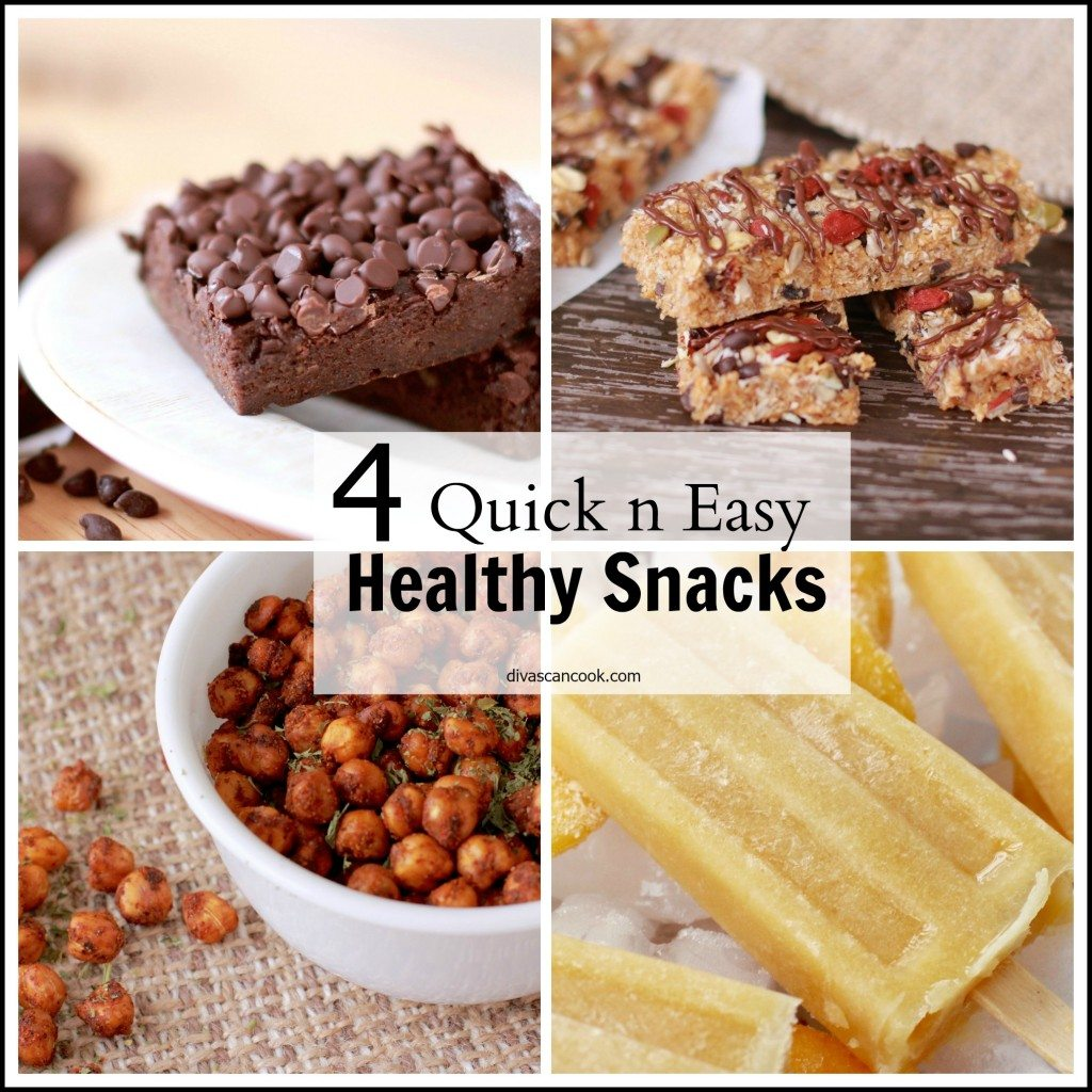 healthy quick snack ideas divas can cook